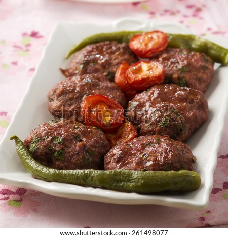 Kofte, Kofta, Middle East Kababs - stock photo