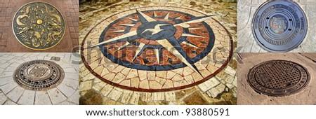 Kompass - stock photo