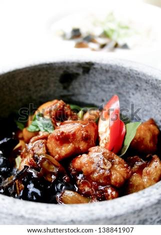 Korean cuisine. - stock photo