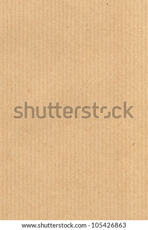 Kraft paper high quality texture - stock photo