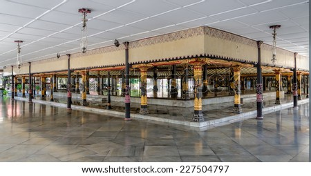 Kraton in Jogjakarta - stock photo