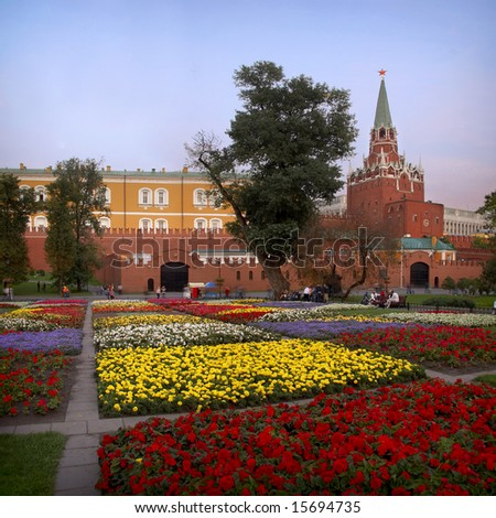 Kremlin view - stock photo