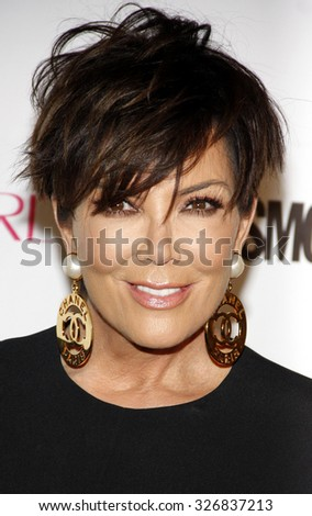 Kris Jenner at the Cosmopolitan's 50th Birthday Celebration held at the Ysabel in West Hollywood, USA on October 12, 2015. - stock photo