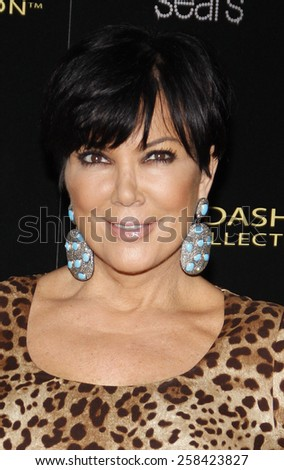 Kris Jenner at the Kardashian Kollection Launch Party held at the Colony in Los Angeles, California, United States on August 17, 2011.  - stock photo