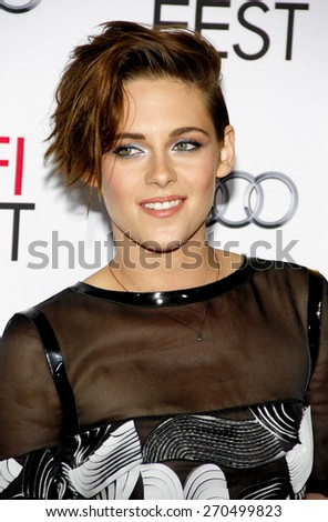 Kristen Stewart at the AFI FEST 2014 Special Screening Of 'Still Alice' held at the Dolby Theatre in Los Angeles on November 12, 2014 in Los Angeles, California. - stock photo
