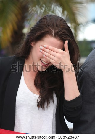Kristen Stewart at the 'On the Road' photocall during the 65th Cannes Film Festival, Cannes, France. 23/05/2012 Picture by: Henry Harris / Featureflash - stock photo