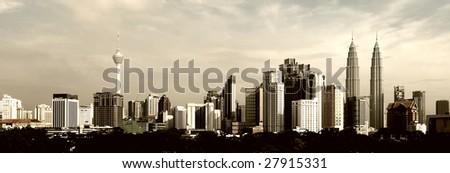 Kuala Lumpur Cityscape - stock photo