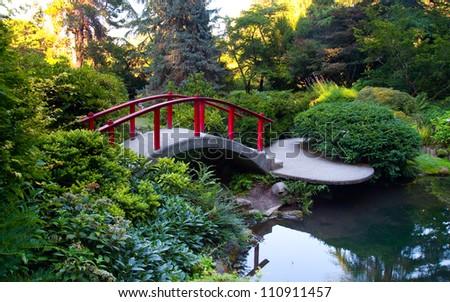Kubota Garden in Seattle WA - stock photo