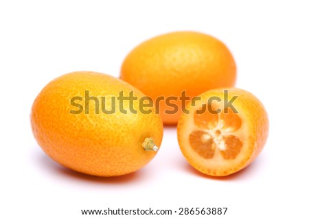 kumquat - stock photo