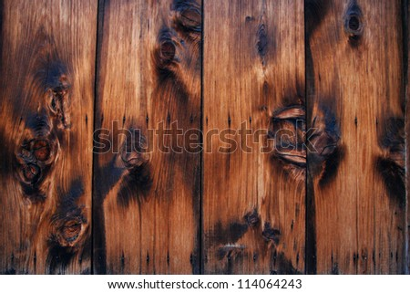 KYOTO, JAPAN - APRIL 2010 : old wooden door pattern - stock photo