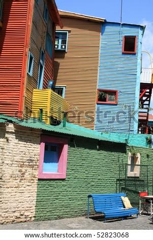 La Boca, Buenos Aires, Argentina - stock photo