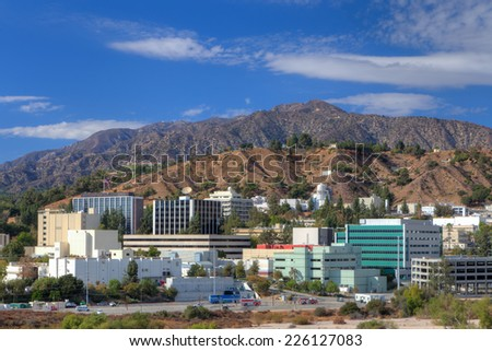 LA CANADA FLINTRIDGE, CA/USA - OCTOBER 25, 2014: Jet Propulsion Laboratory Labratory. JPL is a federally funded research and development center and NASA field center. - stock photo