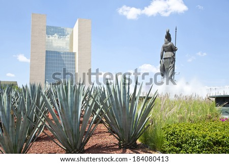 La Minerva Monuments of Guadalajara, Jalisco, Mexico - stock photo
