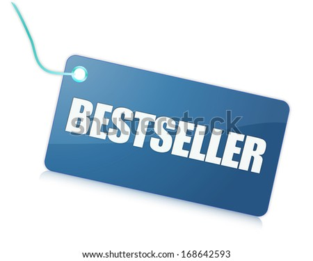 Label bestseller - stock photo