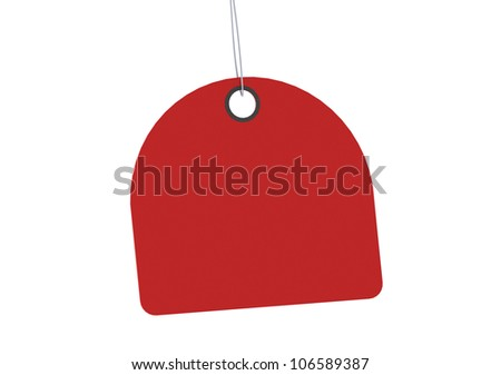 Label tag - stock photo