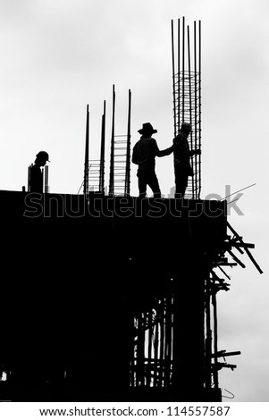 labor working construct - stock photo