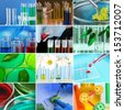 Laboratory Collage - stock photo