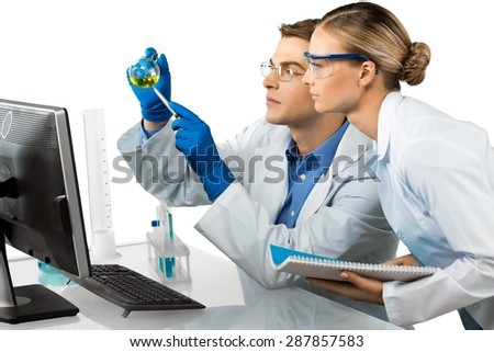 Laboratory, Healthcare And Medicine, Research. - stock photo