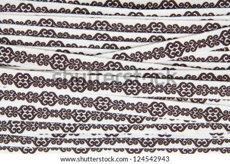 Lace Fabric texture background - stock photo
