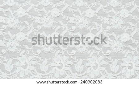 Lace Ribbon Seamless Pattern - stock photo