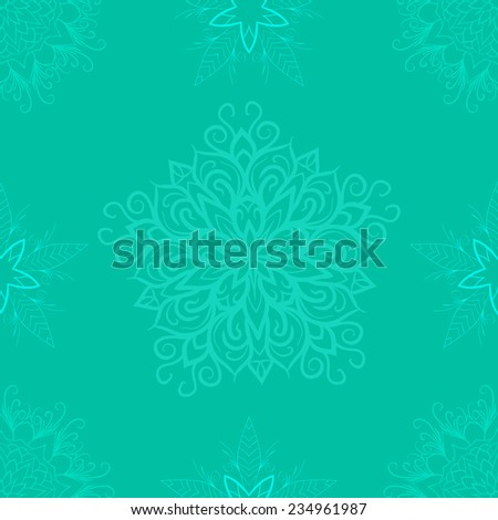 Lacy texture. Vintage wallpaper. Indian pattern. Vintage decorative elements. Hand drawn background. Islam, Arabic, Indian, ottoman motifs. - stock photo