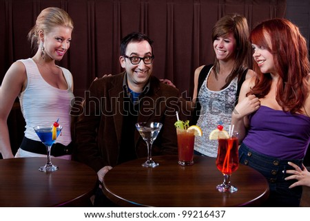 Ladies' Man - stock photo