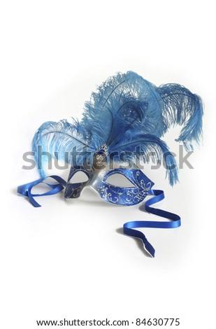 Lady's Ball Mask - stock photo