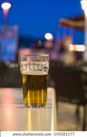 Lager - stock photo