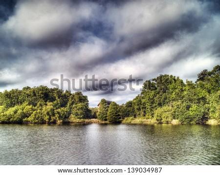 Lake Alice - stock photo