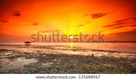 Lake Balaton, Hungary - stock photo