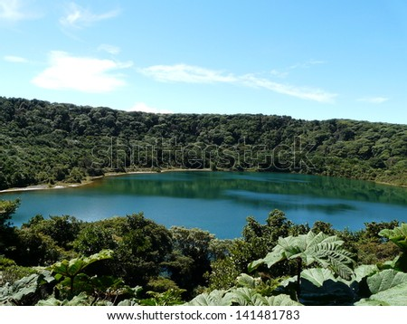 Lake, Costa Rica - stock photo