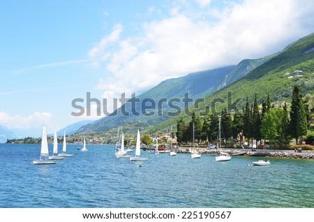 Lake Garda, Italy - stock photo