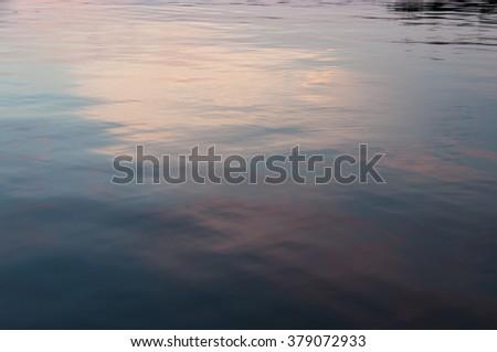 Lake Martin Alabama - stock photo