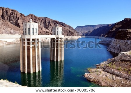 Lake Mead - stock photo