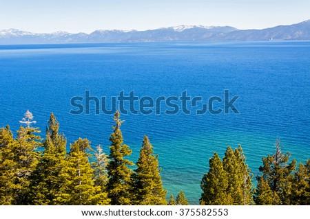 Lake Tahoe, California, USA - stock photo