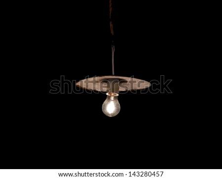 Lamp - stock photo