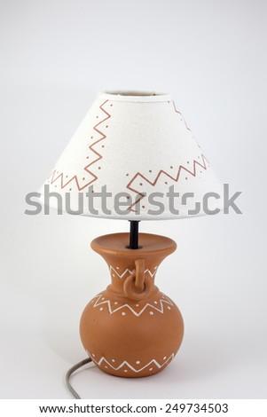 lamp lighting - stock photo