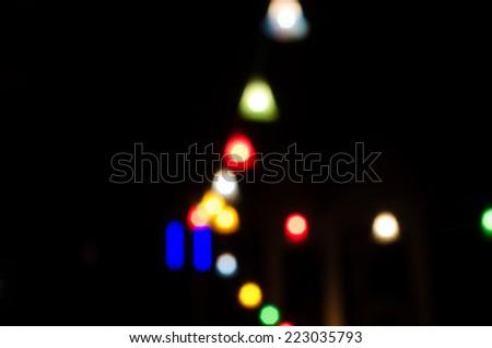 lamp street - stock photo