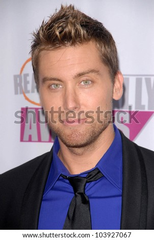 Lance Bass at Fox Reality Channel's 'Really Awards' 2009. Music Box Theatre, Hollywood, CA. 10-13-09 - stock photo