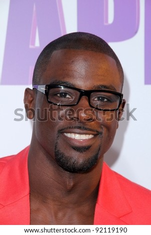 """Lance Gross at the Los Angeles Screening of """"Tyler Perry's Madea's Big Happy Family."""" Arclight Theater, Hollywood, CA. 04-19-11 - stock photo"""