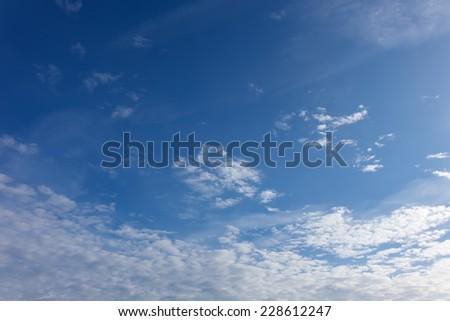 landscape blue daytime sky - stock photo