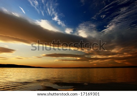 Landscape from Bulgaria - stock photo