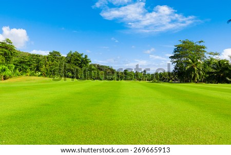 Landscape Golf Club  - stock photo