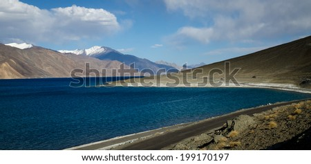 Landscape of Ladahk  - stock photo