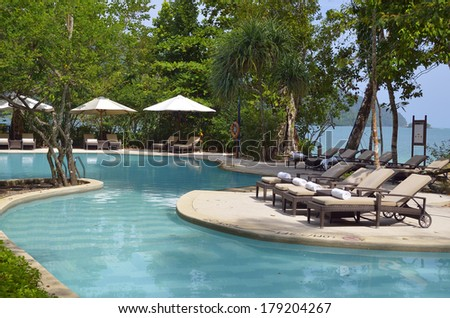 Langkawi Island, Malaysia - stock photo