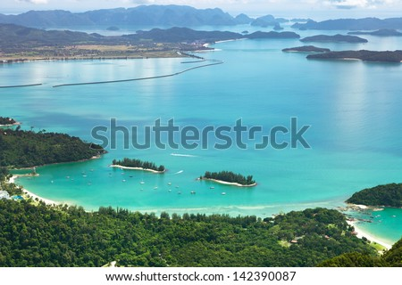Langkawi landscape - stock photo