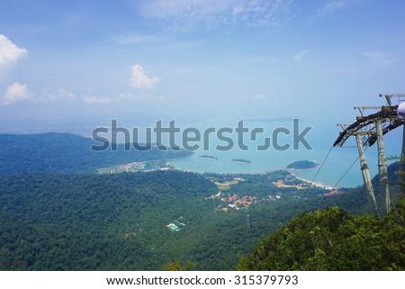 Langkawi landscape,malaysia - stock photo