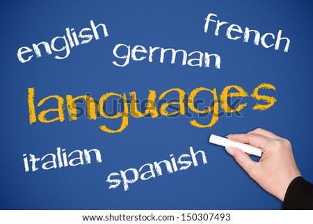Languages - stock photo