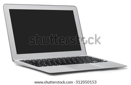 Laptop. - stock photo