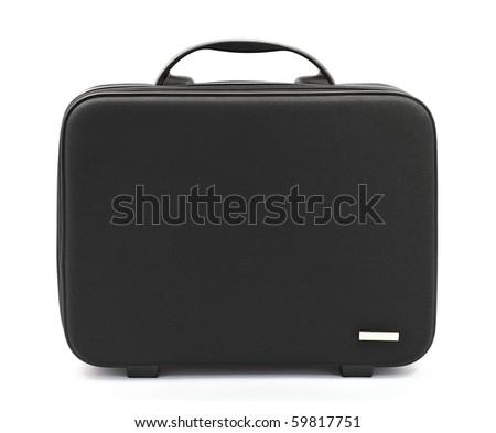 Laptop bag isolated - stock photo